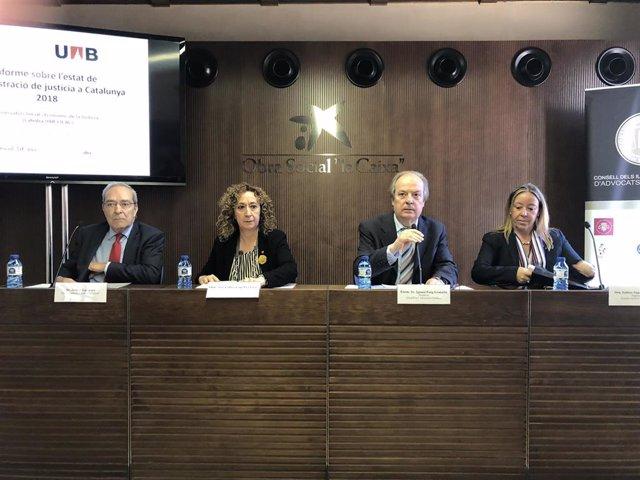 Tres de cada 10 abogados catalanes creen que la Justicia funciona mal o muy mal según un estudio