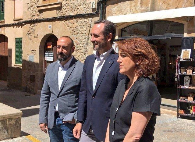 "Soraya Rodríguez (Cs) llama ""alianza contra natura"" la coalición entre PSIB y Esquerra Republicana en Pollença"
