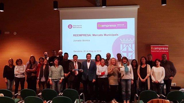 La Diputación de Barcelona y Cecot amplían la cobertura de Reempresa a mercados municipales