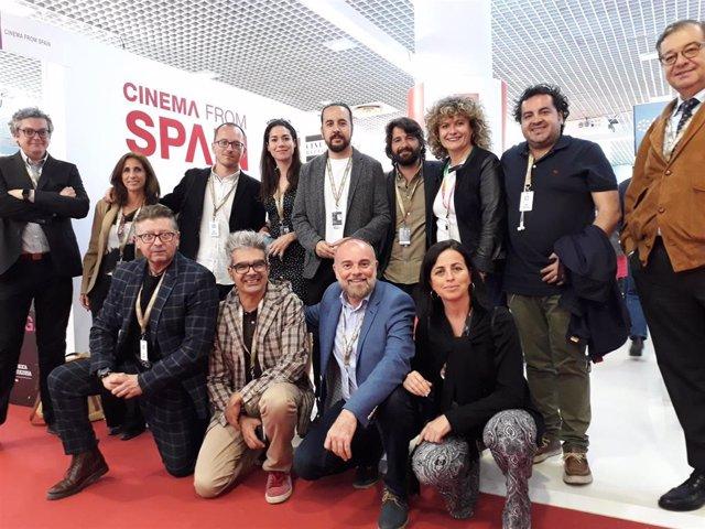 Economía.-Una docena de productoras andaluzas participan en el Marché de Cannes en una misión comercial de Extenda