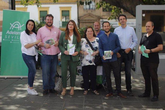 """Sevilla.- 26M.- Adelante promete """"impuestos específicos"""" para los pisos turísticos y la tasa al visitante"""