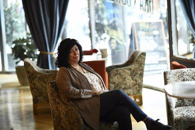 La escritora Almudena Grandes presenta su recopilación 'La herida perpetua'