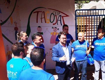 Asier Antona propone implantar la educación bilingüe y la gratuidad de la educación de 0 a 3 años