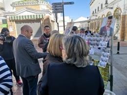 """Huelva.-26M.- Alexis Landero (PSOE) garantiza que transformará Cartaya """"con un gran proyecto que ha nacido de la gente"""""""