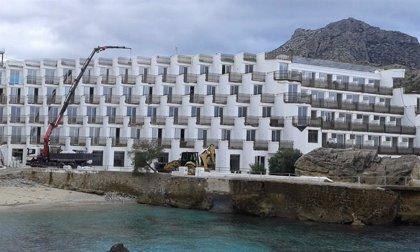 El GOB pide la demolición del hotel Don Pedro en Pollença al asegurar que no cumple con la Ley de Costas