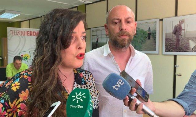"""Almería.-26M.-Unidas Podemos llama a """"acabar con el tripartito neoliberal"""" que """"solo favorece los intereses del mercado"""""""