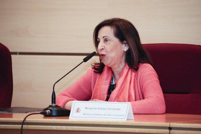 """Robles subraya que no existirá una paz """"segura y duradera"""" sin la participación de las mujeres en las misiones"""