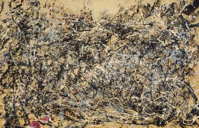 El manto de la Tierra es como una pintura de Jackson Pollock