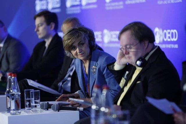 Carcedo destaca a la OCDE la importancia de garantizar la equidad en el acceso a las terapias CART en la sanidad pública