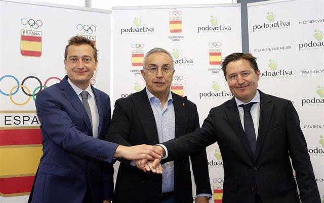 JJ.OO.- COE y Podoactiva cuidarán los pies de los deportistas olímpicos españoles en Tokyo