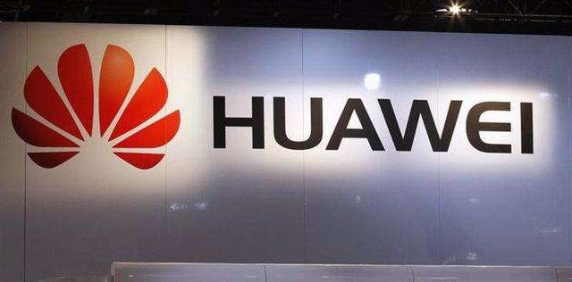 Logo del fabricante chino de teléfonos móviles Huawei