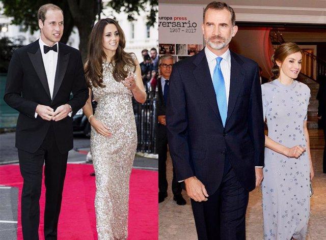 La Reina Letizia y Kate Middleton, el vestido de Mango que podría unirlas