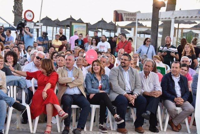 """26M.- Susana Díaz: """"Las Derechas Se Unirán En Los Ayuntamientos Si Suman Y Ese Pacto Se Frena Votando"""""""