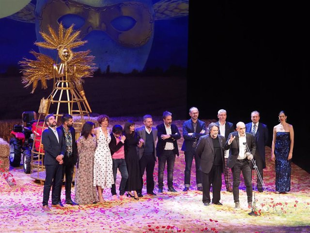Ceremonia de entrega de los XXII Premios Max de las Artes Escénicas en Valladolid (Castilla y León)