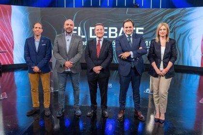 Escasez de nuevas propuestas, puerta abierta de Cs al cambio y ataques de Núñez a Page, en el debate