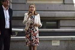 Ana Pastor assenyala que la decisió d'inhabilitar els diputats presos l'ha de prendre la presidenta del Congrés (Oscar Cañas - Europa Press)