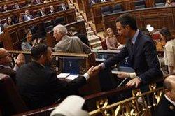Comença la sessió constitutiva al Congrés, amb els presos asseguts als seus escons (EDUARDO PARRA / EUROPA PRESS)