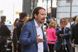 Iglesias creu que els diputats presos haurien de poder exercir