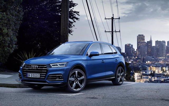 Economía/Motor.- Audi pone a la venta en España el Q5 55 TFSIe quattro, con 367 caballos y tecnología hibrida enchufable