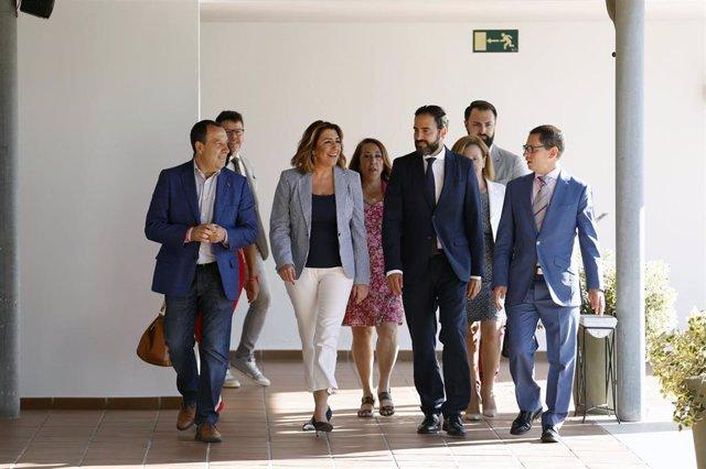"""Málaga.- 26M.- Díaz dice que Pérez """"supone un tiempo nuevo"""" para Málaga, que """"se convertirá en capital del mediterráneo"""""""