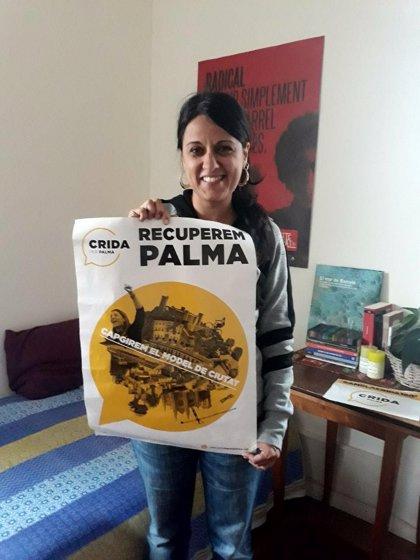 Anna Gabriel expresa su apoyo a Crida per Palma
