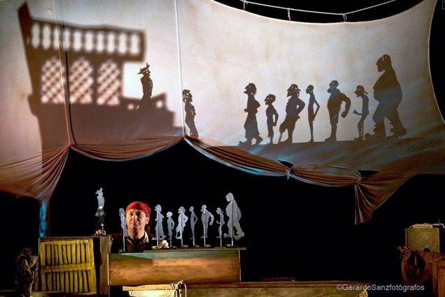 Málaga.- La compañía andaluza A la sombrita abre el XV Festival de Títeres del Teatro Cánovas