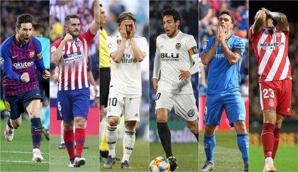 Las notas de los equipos de LaLiga Santander