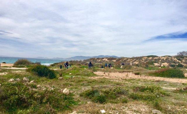 És Carnatge, Reserva natural en Ca Pastilla, en les Illes Balears