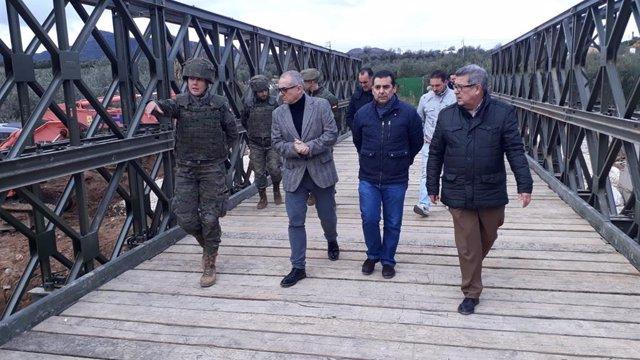Sevilla.-Gobierno abonará 200.000 euros a los municipios afectados por las inundaciones de octubre