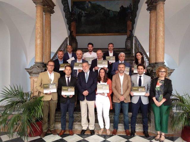 CórdobaÚnica.- Entregados los premios del XII Concurso Provincial de Aceite Virgen Extra Premio Diputación de Córdoba