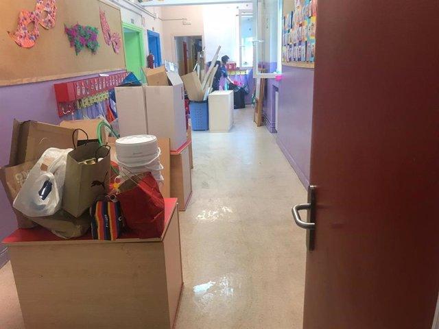 Los colegios Cisneros y Antonio Mendonza van recuperando la normalidad