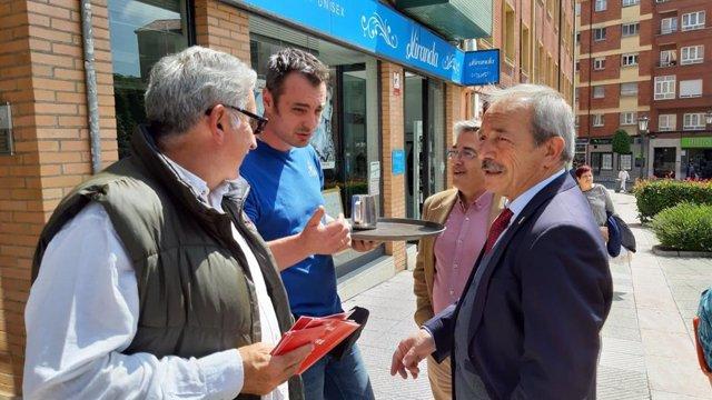 """26M-M.- López (PSOE) Pide A Los """"Ovetenses De Bien"""" Votar A Un Gobierno Decente Y """"No Al De Los Gandes Pufos Y Expolios"""""""