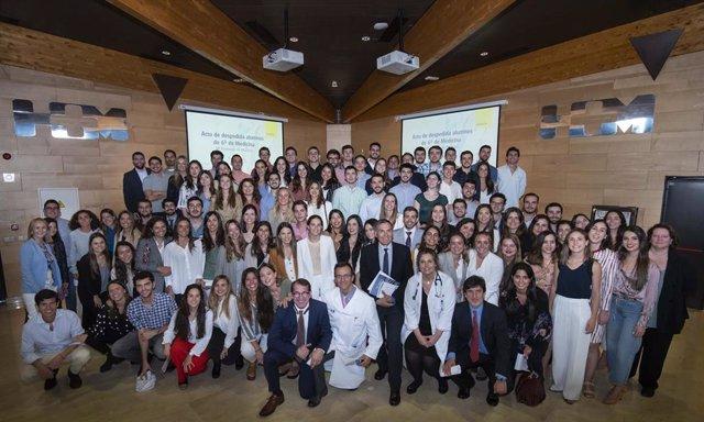 Empresas.- Despedida de la 8ª promoción de medicina formada en HM hospitales y la Universidad CEU San Pablo