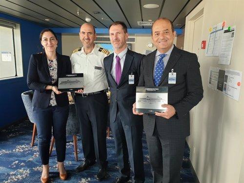 El presidente de la Autoridad Portuaria de Las Palmas prevé 600 escalas de buques en la próxima temporada de cruceros