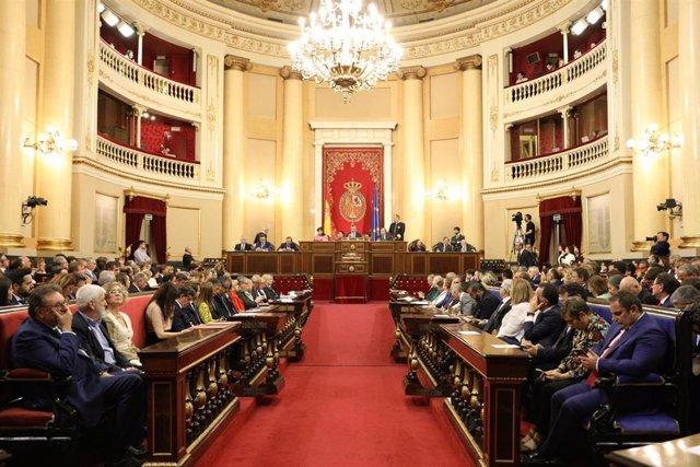 Sesión Constitutiva de la XIII Legislatura del Senado