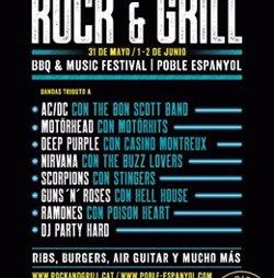 El Poble Espanyol celebrarà el festival de rock i barbacoa Barrica Rock&Grill des del 31 de maig (ROCK&GRILL)