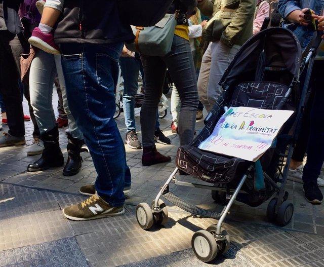 Familias de Barcelona reivindican el criterio de proximidad al asignar plazas de P3