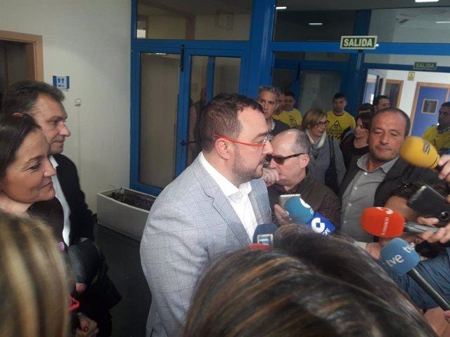 """La Ministra de Industria Reyes Maroto confirma que """"el estatuto llegará a tiempo, tendremos estatuto"""""""