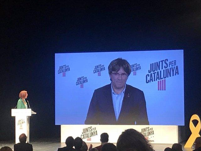 """26M.- Puigdemont: """"En El Parlamento Europeo No Podrá Suspendernos Ningún Juez Prevaricador"""""""