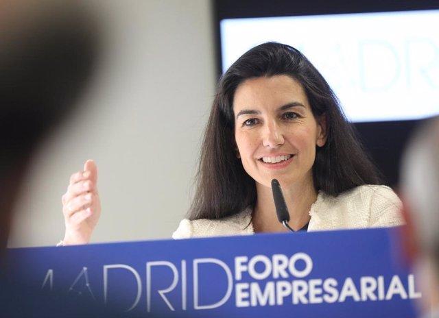 """Monasterio asegura que Madrid Nuevo Norte desvela la """"incapacidad"""" del resto de partidos para """"liderar el urbanismo"""""""