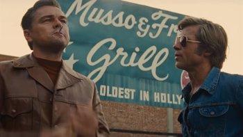 Foto: Leonardo DiCaprio y Brad Pitt, desatados en el nuevo tráiler de 'Érase una vez en... Hollywood' de Quentin Tarantino