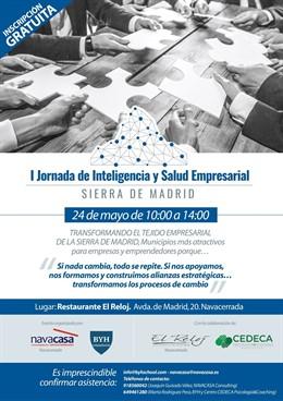 Navacasa, del Club Notegés, organiza la I 'Jornada de Inteligencia y Salud Empresarial' de la Sierra de Madrid