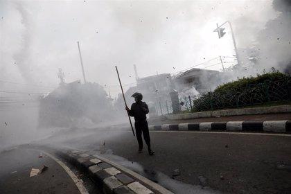 """El presidente indonesio promete una """"firme"""" respuesta frente a los """"alborotadores"""""""