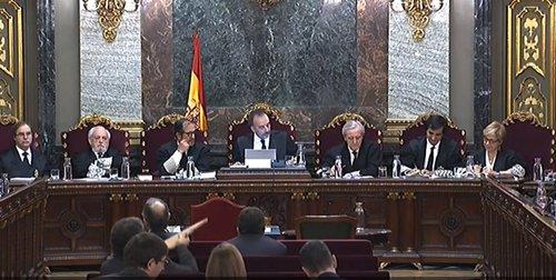 Jornada 44 del juicio del procés en el Tribunal Supremo