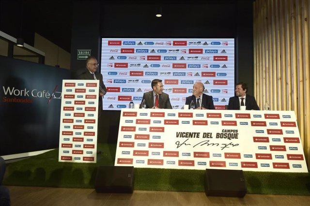 """Fútbol/Copa.- Del Bosque: """"Veo una final de Copa incierta, que sea una buena propaganda para el fútbol"""""""