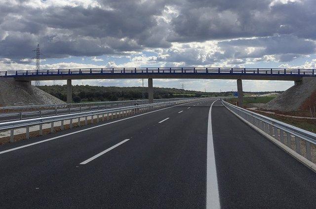 Fomento abrirá el último día de campaña el tramo de la A-11 entre La Mallona y Venta Nueva (Soria)
