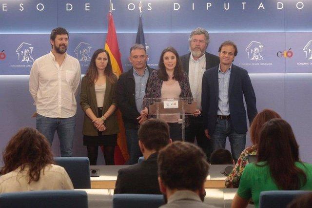Unidas Podemos estrena la legislatura pidiendo en el Congreso que España se declare en estado de emergencia climática