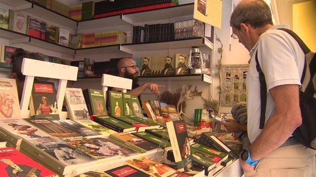 Madrid celebra la 77 edición de la Feria del Libro