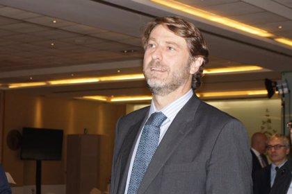 Carlos Suárez, Diego Rivas, Galindo y Hombrados hablan sobre cómo gestionar el patrimonio en la URJC en Madrid