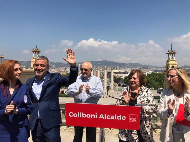 """26M.- Collboni Llama Al Voto Útil Progresista Moderado Para """"Defender Barcelona Del 'Procés"""""""